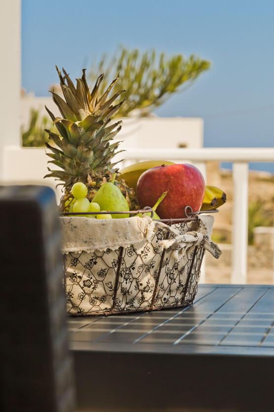 Kalimera Karpathos - Studio - Garden Table
