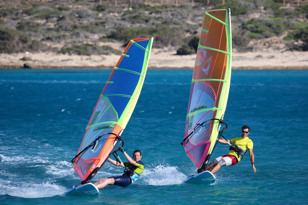 Windsurfing in Karpathos